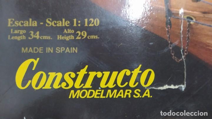 Maquetas: Pailebote barco de cabotaje de 250 tn. 1850 de constructo. Modelmar S.A. nuevo. Años 70 - Foto 2 - 263738385