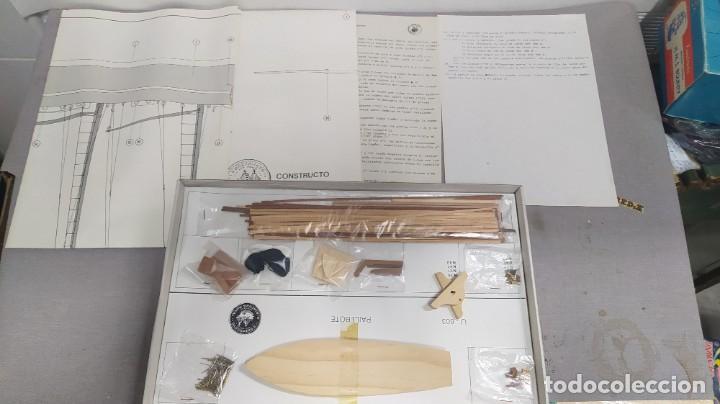 Maquetas: Pailebote barco de cabotaje de 250 tn. 1850 de constructo. Modelmar S.A. nuevo. Años 70 - Foto 4 - 263738385