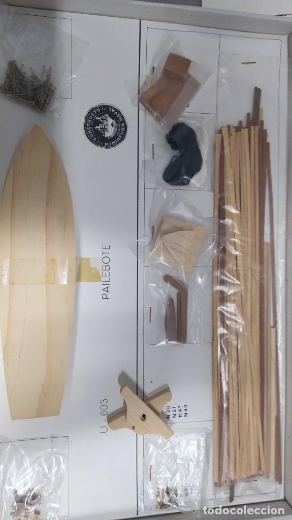 Maquetas: Pailebote barco de cabotaje de 250 tn. 1850 de constructo. Modelmar S.A. nuevo. Años 70 - Foto 5 - 263738385