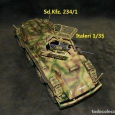 Maquetas: SD.KFZ. 234/1 , ITALERI 1/35 MEJORADO. Lote 264028870