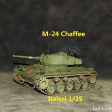 Maquetas: M-24 CHAFFEE ESPAÑOL, ITALERI 1/35. Lote 264030210