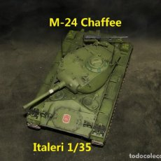 Maquetas: M-24 CHAFFEE ESPAÑÓL, ITALERI 1/35. Lote 264030785