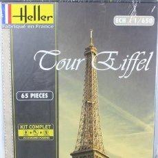 Macchiette: MAQUETA TORRE EIFFEL, REF. 81201, 1/650, HELLER. Lote 264254516