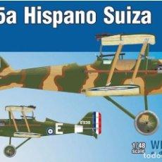 Maquettes: EDUARD 8453 # SE.5A HISPANO SUIZA 1/48. Lote 264275520