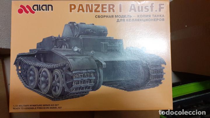 PANZER I AUSF F. ALAN 1/35 (Juguetes - Modelismo y Radiocontrol - Maquetas - Militar)