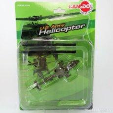 Maquetas: HELICÓPTERO BOEING AH-64 A APACHE ESCALA 1:144 DRAGON CAN.DO. Lote 264562969
