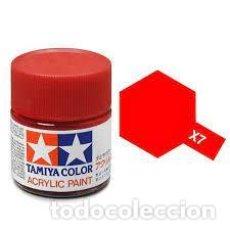 Macchiette: TAMIYA - X7 ROJO BRILLO. Lote 265515819