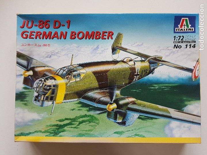 JUNKERS 86 D-1 GERMAN BOMBER ITALERI 1/72 (Juguetes - Modelismo y Radio Control - Maquetas - Aviones y Helicópteros)