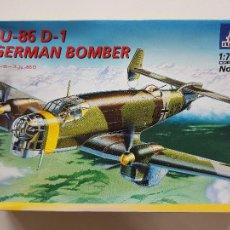 Macchiette: JUNKERS 86 D-1 GERMAN BOMBER ITALERI 1/72. Lote 265937118