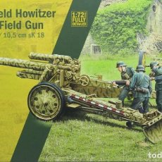 Maquettes: MAQUETA CAÑÓN 15 CM FIELD HOWITZER SFH-18 – 10.5 FIELD GUN SK18, REF. 7072, 1/72, ITALERI. Lote 266142043