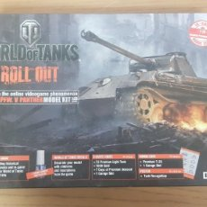 Maquettes: TANQUE PZ. KPFW. V PANTHER WORLD OF TANKS ROLL OUT NUEVO REF 36506 ESCALA 1:35 DE ITALERI. Lote 266165403