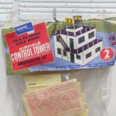 Macchiette: AIRFIELD CONTROL TOWER AIRFIX H0. AÑOS 60 SIN ABRIR. Lote 266877069