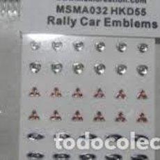Maquettes: MSM CREATION - EMBLEMAS WRC 1/24 032. Lote 266964374