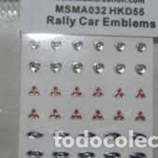 Maquettes: MSM CREATION - EMBLEMAS WRC 1/24 032. Lote 266964419