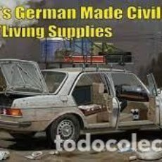 Maquettes: DIOPARK - 70`S GERMAN MERCEDES BENZ MADE CIVILIAN CAR W/LIVING SUPPLIES 1/35 35018. Lote 266970714