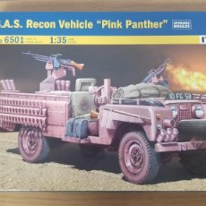 """Maquettes: RESERVADO NO COMPRAR LAND ROVER S.A.S. RECON VEHICLE """"PINK PANTHER"""" REF 6501 ESCALA 1:35 DE ITALERI. Lote 267275949"""