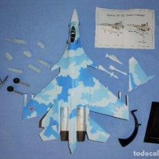 """Macchiette: AVIONES DE COMBATE A ESCALA MODELO SUKHOI SU-35 """"SUPER FLANKER"""" RUSIA. Lote 267315404"""
