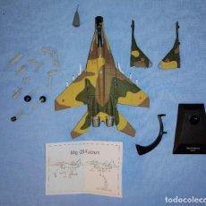 Macchiette: AVIONES DE COMBATE A ESCALA MODELO MIG - 29 FULCRUM USSR RUSIA. Lote 267315659