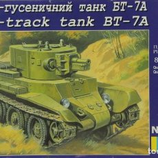 Macchiette: MAQUETA CARRO BT-7A, REF. 312, 1/72, UM. Lote 267523204