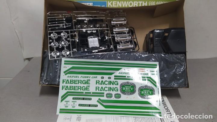 Maquetas: Kenworth Coe aerodyne and 40 van 1/32 Monogram. Nuevo bolsa precintado. - Foto 3 - 267751774