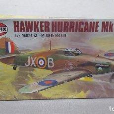 Maquetas: HAWKER HURRICANE MK1 1/72 AIRFIX SCALE. NUEVO, BOLSA PRECINTADA. Lote 268587034