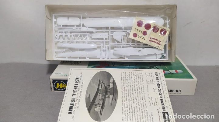 Maquetas: Kawanishi tupé 94-1 escala 1/72 Hasegawa. Nuevo todo precintado - Foto 2 - 268593314