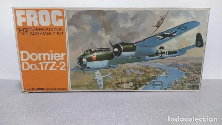 DORNIER DO. 17Z-2 ESCALA 1/72 FROG. NUEVO (Juguetes - Modelismo y Radio Control - Maquetas - Aviones y Helicópteros)