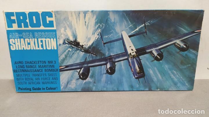 AVRO SHACKLETON MR. 3 ESCALA 1/72 FROG. NUEVO (Juguetes - Modelismo y Radio Control - Maquetas - Aviones y Helicópteros)