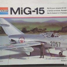 Maquetas: MIG-15 ESCALA 1/48 MONOGRAM. NUEVO. Lote 268596079
