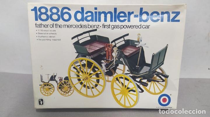1886 DAIMLER-BENZ 1/16 ENTER. 1 MERCEDES DE LA HISTORIA. NUEVO, TODO PRECINTADO (Juguetes - Modelismo y Radiocontrol - Maquetas - Coches y Motos)