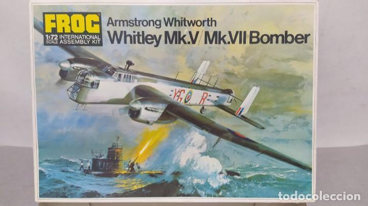WHITLEY MK. V/MK.VII BOMBER ESCALA 1/72 FROG. NUEVA, BOLSA PRECINTADA (Juguetes - Modelismo y Radiocontrol - Maquetas - Coches y Motos)