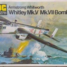 Maquetas: WHITLEY MK. V/MK.VII BOMBER ESCALA 1/72 FROG. NUEVA, BOLSA PRECINTADA. Lote 268615349