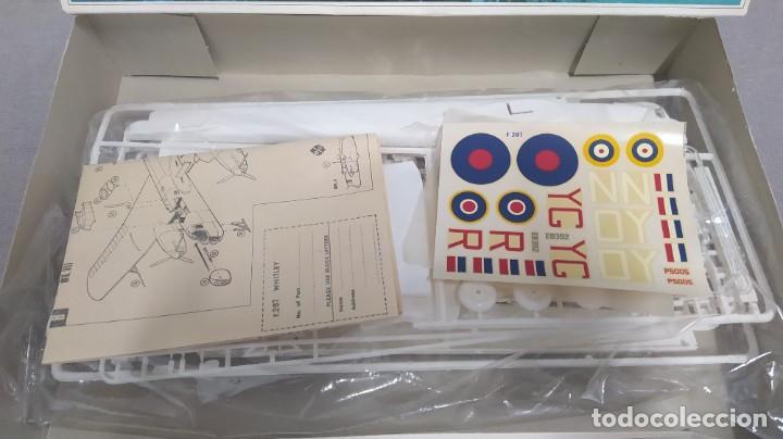 Maquetas: Whitley Mk. V/Mk.VII bomber escala 1/72 frog. Nueva, bolsa Precintada - Foto 2 - 268615349