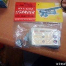 Maquetas: BOLSA PLASTY WESTLAND LYSANDER -- SIN ABRIR. Lote 268721829