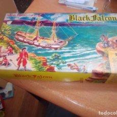 Maquetas: AURORA MODELO KIT BARCO MARINO 1956 BLACK FALCON. Lote 268733384