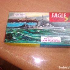 Maquetas: EAGLE -- H.MS. ORION -- BATALLA DE CAPE MATAPAN --. Lote 268733724