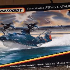 Maquetas: CONSOLIDATED PBY 5 CATALINA. MATCHBOX 1/72. Lote 268853914