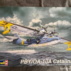 Maquetas: PBY /OA-10A CATALINA 1:48 REVELL 85-5617 MAQUETA AVIÓN HIDROAVION. Lote 268888489