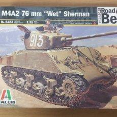 Maquetas: TANQUE RUSO M4A2 76MM WET SHERMAN ROAD TO BERLIN ESCALA 1:35 ITALERI. Lote 268902609