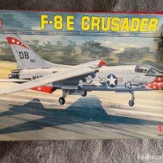 Maquetas: F-8E CRUSADER 1:72 ESCI 9066 MAQUETA AVION. Lote 269164023