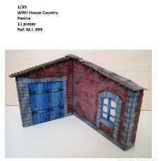 Maquetas: WWII HOUSE COUNTRY 1/35 RESINA BUILDING RUINS ACCESORIOS DIORAMA. Lote 269170813