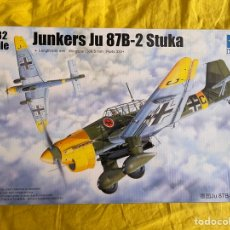Maquetas: JUNKERS JU-87B-2 STUKA 1:32 TRUMPETER 03214 MAQUETA AVION. Lote 269378198