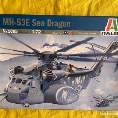Maquetas: MH-53E SEA DRAGÓN 1:72 ITALERI 065 MAQUETA HELICOPTERO AVION. Lote 269391218
