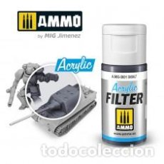 Maquetas: AMMO - ACRILIC FILTER DIRT AMIG0800. Lote 269500348
