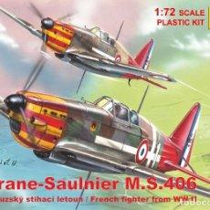 Maquetas: MORANE SAULNIER MS 406. RS MODELS. 1/72. Lote 269580193