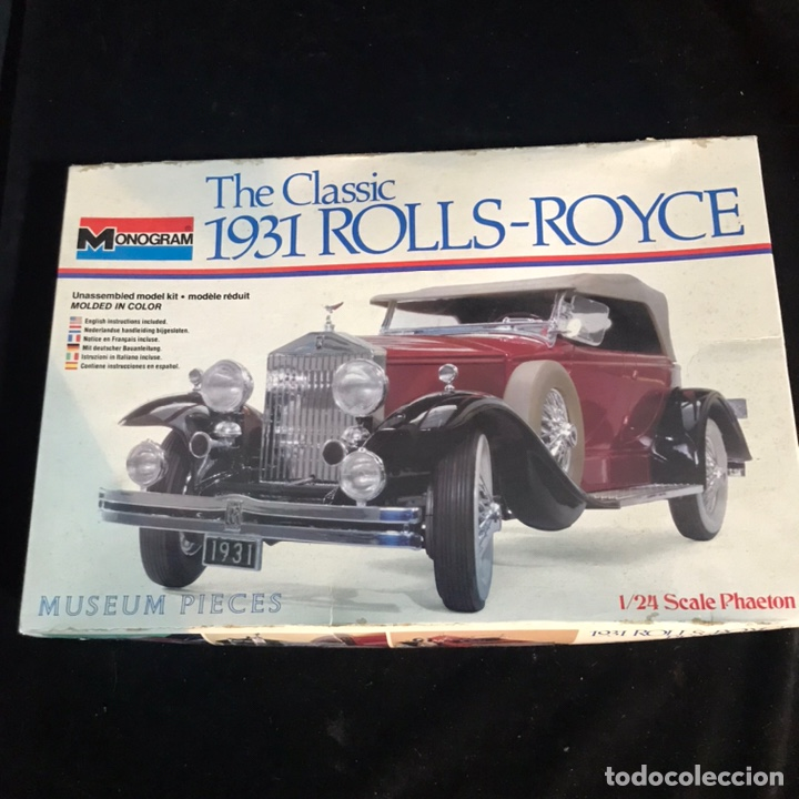 Maquetas: Kit de montaje the Classic 1931 Rolls-Royce. Monogram. - Foto 2 - 269621223