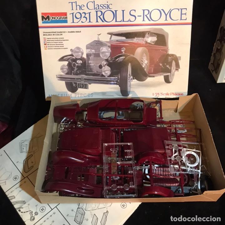 Maquetas: Kit de montaje the Classic 1931 Rolls-Royce. Monogram. - Foto 3 - 269621223