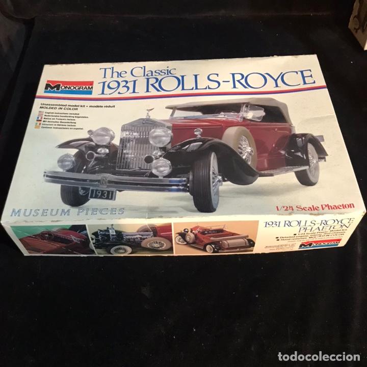 KIT DE MONTAJE THE CLASSIC 1931 ROLLS-ROYCE. MONOGRAM. (Juguetes - Modelismo y Radiocontrol - Maquetas - Coches y Motos)