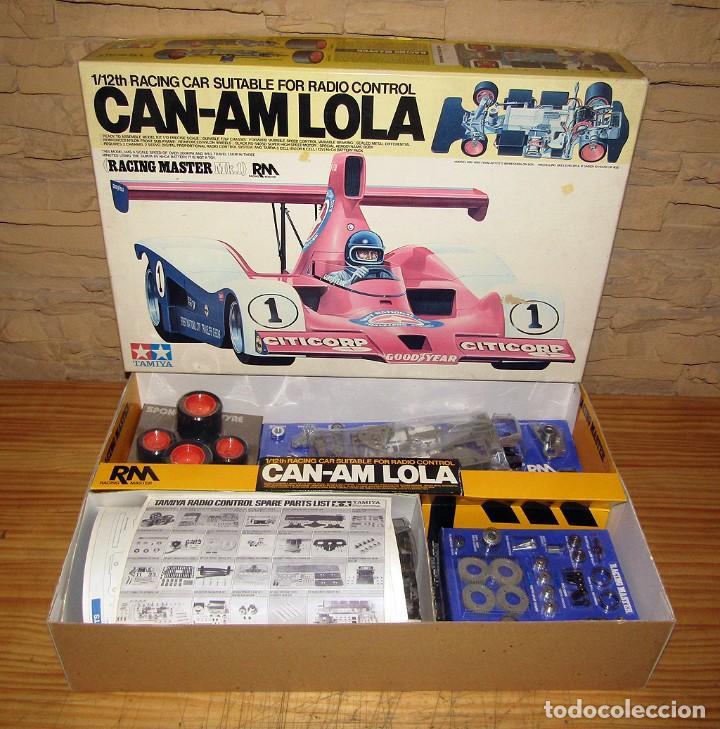 CAN-AM LOLA, DE TAMIYA - NUEVO A ESTRENAR Y EN SU CAJA ORIGINAL - 1:12 - MAQUETA MAQUETTE VINTAGE (Juguetes - Modelismo y Radiocontrol - Maquetas - Coches y Motos)