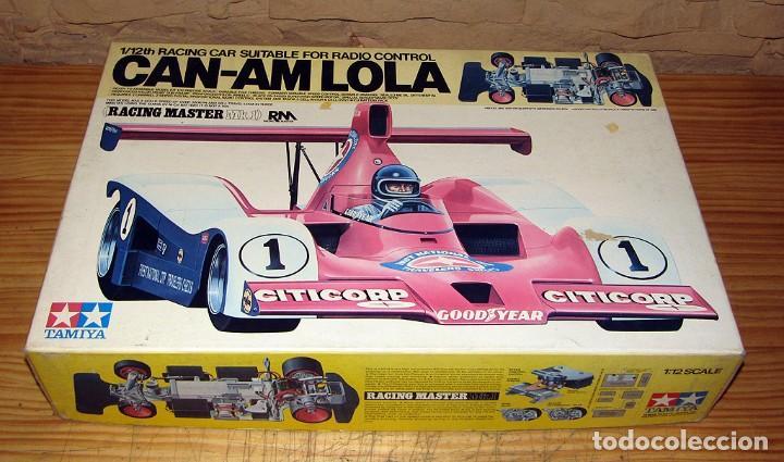 Maquetas: CAN-AM LOLA, DE TAMIYA - NUEVO A ESTRENAR Y EN SU CAJA ORIGINAL - 1:12 - MAQUETA MAQUETTE VINTAGE - Foto 2 - 269762498